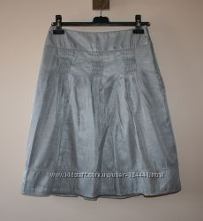 Атласная юбка Marks & Spencer, р. 8, 36 евр.
