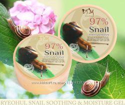 Корея. Snail Soothing Gel улиточный гель с эффектом лифтинга. 300 мл.