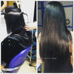 Наращивание волос, качество, гарантия, опыт, продажа славянских волос