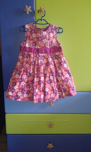 Платье  Mothercare на 3-4 года