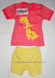 Комплект для жаркого лета на модную девочку ТМ Yaloo