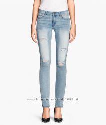 Рваные джинсы Skinny Н&M