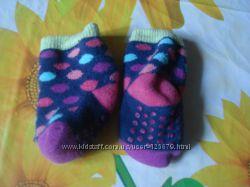 Носочки детские, теплые, махровые, на 6-18 м-цев