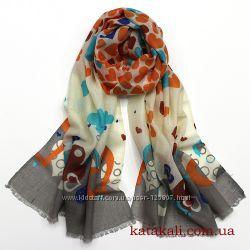 Женские шарфы и шарфики из 100 шерсти
