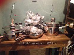 Итальянская посуда с толстым дном