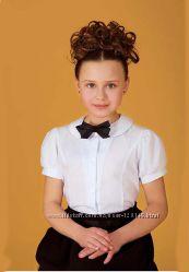 Шикарные школьные блузки до 152 размера  В Наличии