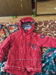 Куртка ветровка 2в1 с капюшоном