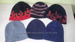Демисезонные и зимние шапки для мальчиков 6 -10 лет