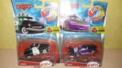 Машинки Тачки Mattel меняющие цвет. Шериф и Буст