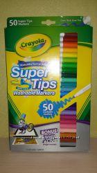 Фломастеры Crayola Washable  50 шт
