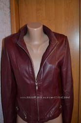 Кожанная курточка S