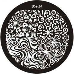 EL Corazon Kaleidoscope диски для стемпинга