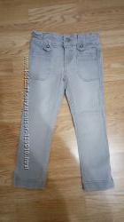Классные джинсы OKAIDI, узкие, с регулируемым поясом