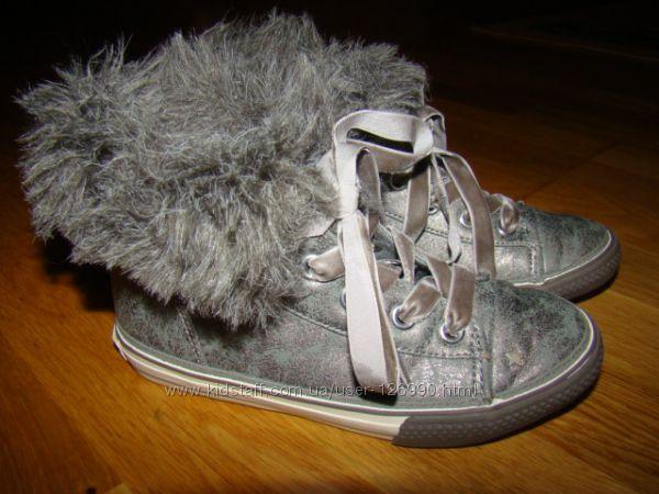 Ботинки кеды Next р. 11 18, 3 см по стельке