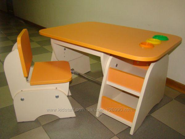 Столик и стульчик растишки  для Ваших деток от 1 года и до 8 лет