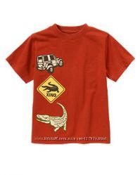 Фирменные футболки Gymboree, США, от 4 до 6 лет, новые