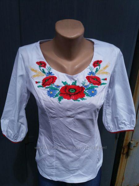 Женские вышиванки от 42 до 52 размера в наличии. Распродажа