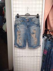 Турецкие джинсовые шорты модели бойфренд ТМ Dilvin