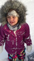 Яркий зимний комбинезон North Face 3Т и куртка Columbia3Т. Цена 1000грн