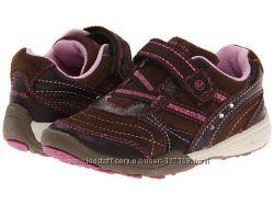 Кожанно-замшевые кроссовки Stride Rite Lydia, размер US 10W, EU 27. 5