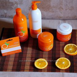 Серия Апельсиновая от Ziaja
