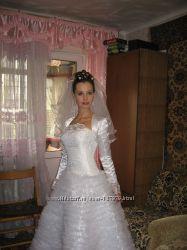 свадебное платье 42 р-р