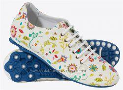 обувь спортивная женская кожаная