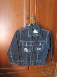Распрдажа. куртка джинсвая для мальчика новая