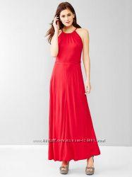 Шикарное красное платье Gap