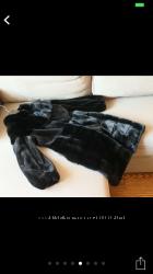 Шуба норковая Blackglama размер 36