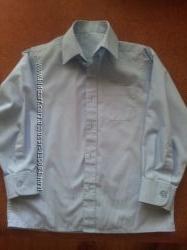 продам школьную рубашку на стройного парня. бу.