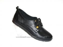 Стильные туфли, натуральная кожа, 36, 37, 40р. Новая коллекция
