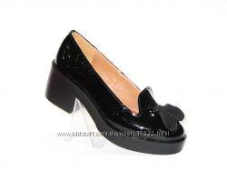 Стильные туфли, натуральная кожа, 36-40р. Новая коллекция
