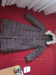 Длинное пальто Colins теплое и красивое Размер Л