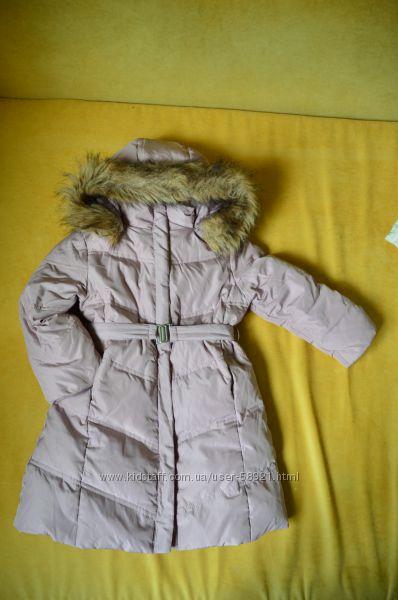 Пуховое пальто Chicco р. 104-110