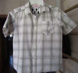 Летняя тонкая рубашка mariquita размер 122 в идеальном состоянии