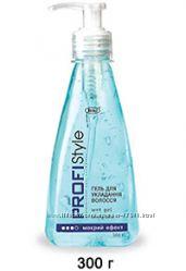 Гель для укладання волосся мокрий ефект PROFI Stile