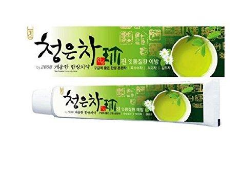 Зубная паста Dental Clinic 2080 Cheong-En-Cha Восточный чай 120г