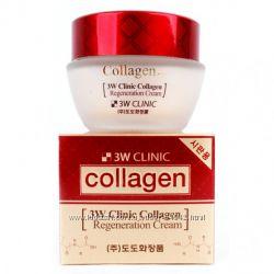 Крем с коллагеном 3W CLINIC  Collagen Regeneration Cream