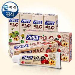 Детская зубная паста 2080 Organic Kids яблоко, малина