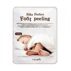 Пилинг для ног Calmia Silky Perfect Foot Peeling