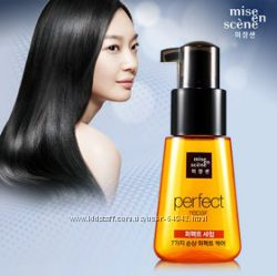 Сыворотка для поврежденных волос Mise en Scene Damage Care Perfect Serum