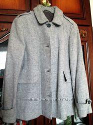 Пальто демисезонное шерсть, размер 48-50