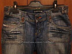 Классные джинсовые капри Leke