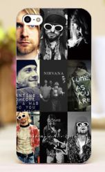 Чехол для iphone  5, 5S - Nirvana
