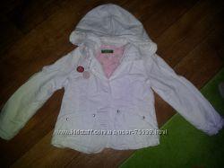 Джинсовый пиджак BENETTON