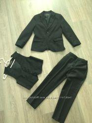 Шикарный школьный костюм Zara тройка