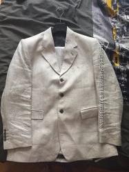 Льняной мужской костюм