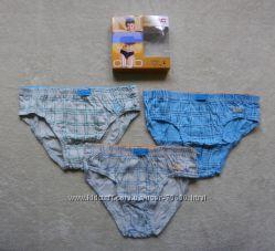 Комплект трусиков 3 шт. для мальчика Natutal Club, размер L, 9-10 лет