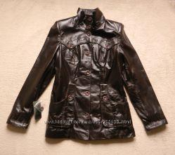 Женская кожаная куртка, новая, размер М-L